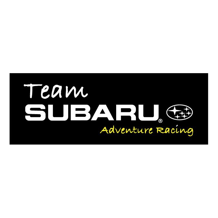free vector Team subaru adventure racing
