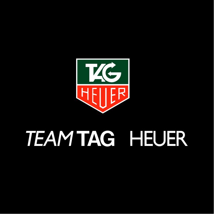 free vector Team tag heuer