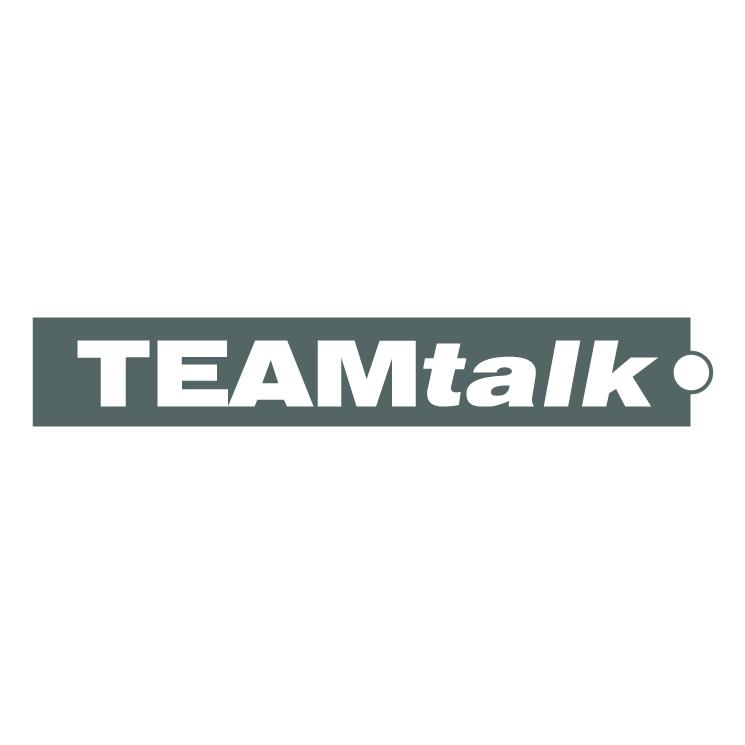 free vector Teamtalk