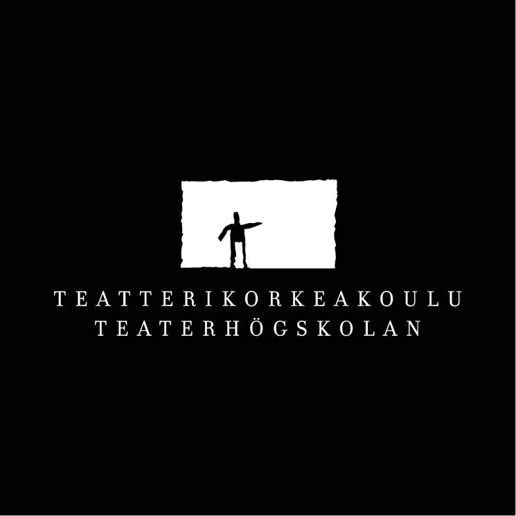 free vector Teatterikorkeakoulu