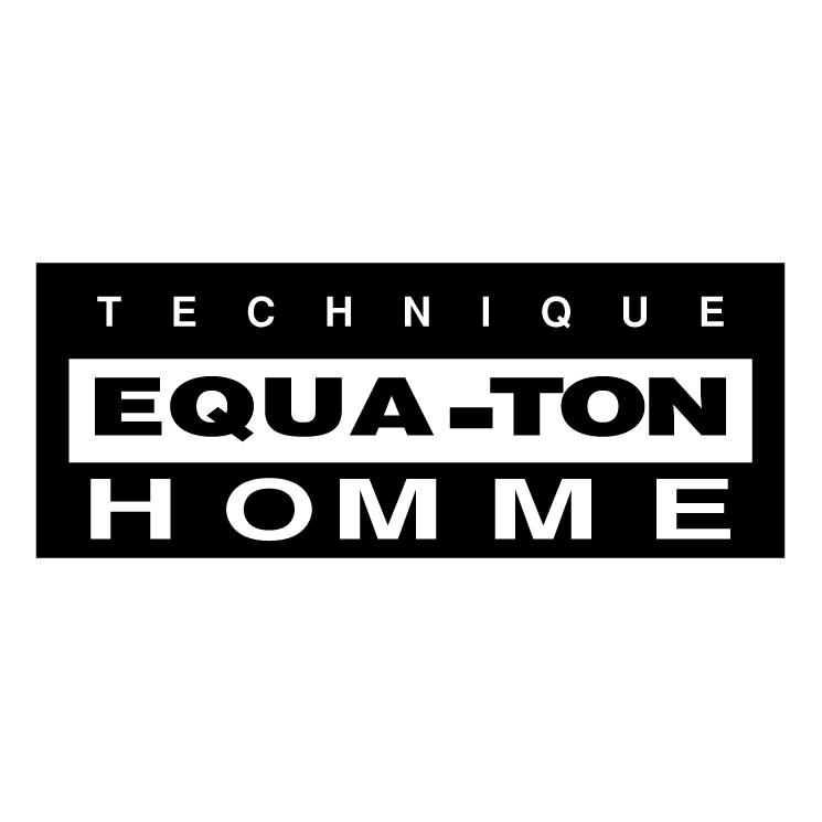 free vector Technique equa ton homme