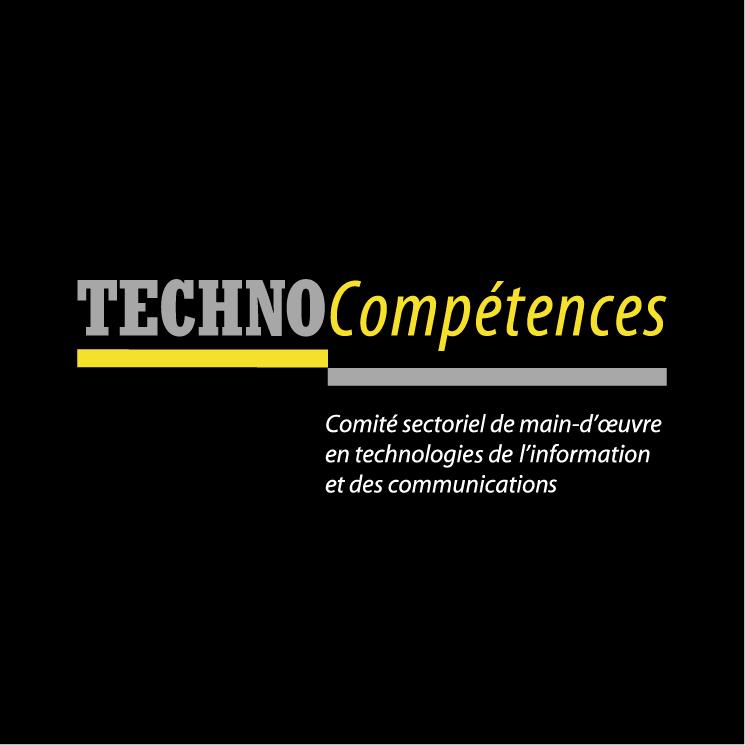 free vector Technocompetences