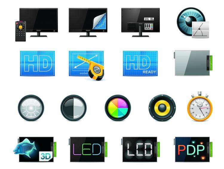 free vector Technology icon 04 vector