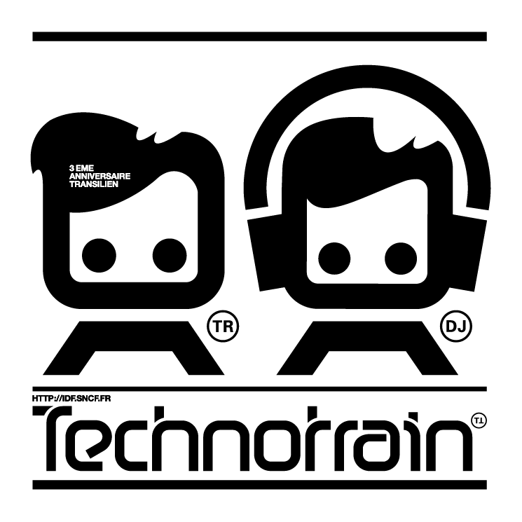 free vector Technotrain