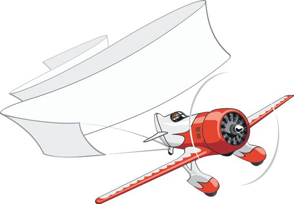 Teddy bear clip art aircraft Free Vector / 4Vector