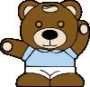 free vector Teddy Bear clip art