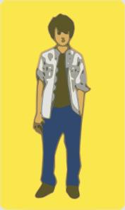 free vector Teenager Boy clip art 125589