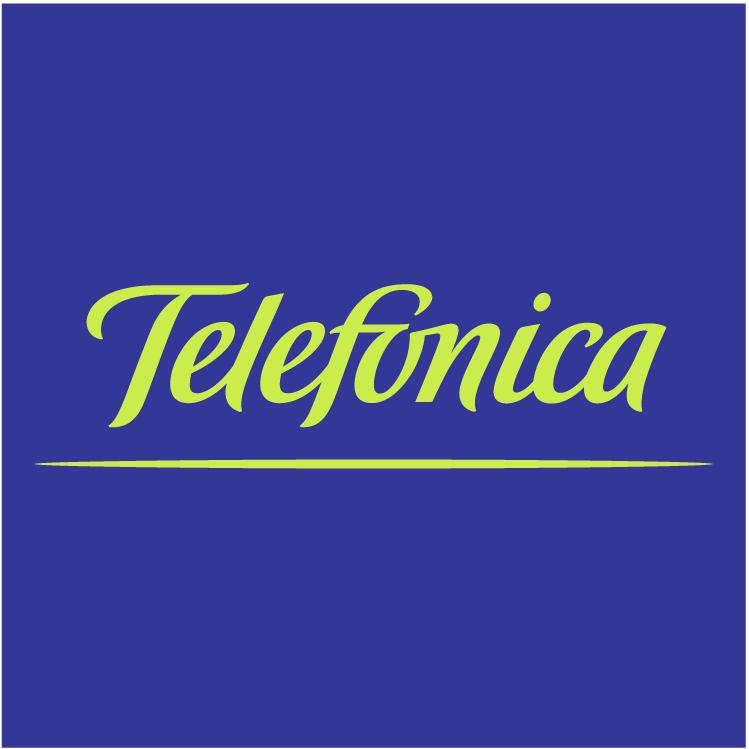 free vector Telefonica 1