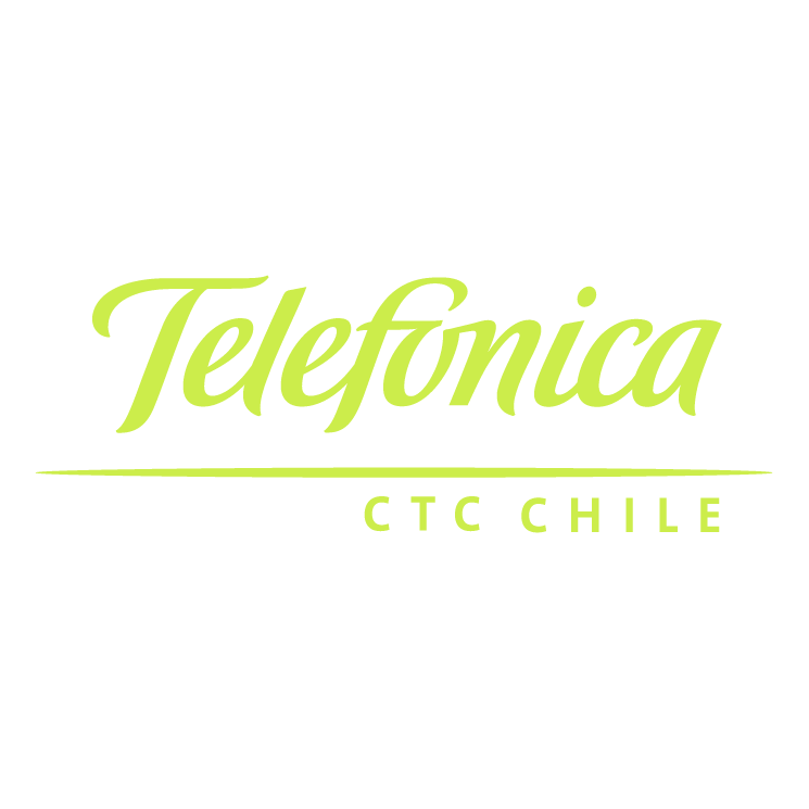 free vector Telefonica ctc chile