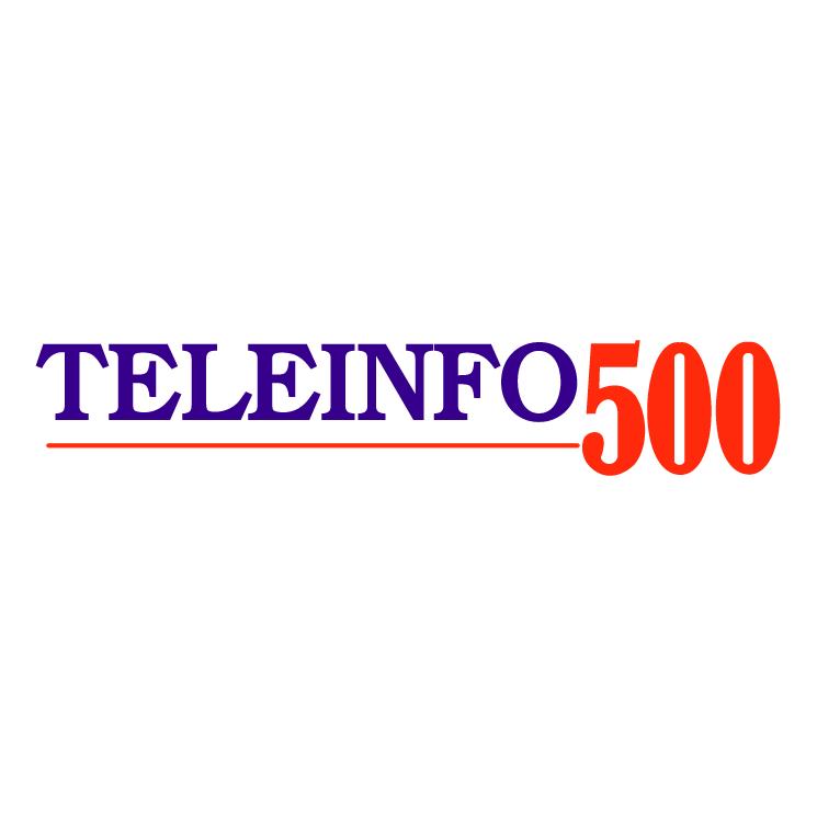 free vector Teleinfo 500