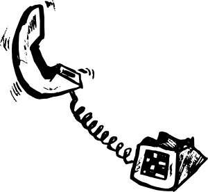 free vector Telephone clip art