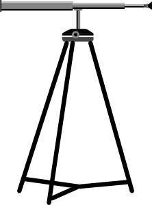 free vector Telescope clip art