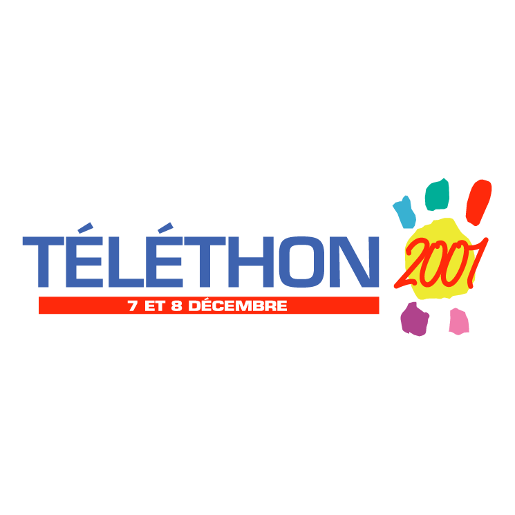 free vector Telethon 2001