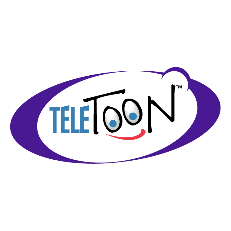 Teletoon logo teletoon is free vector logo