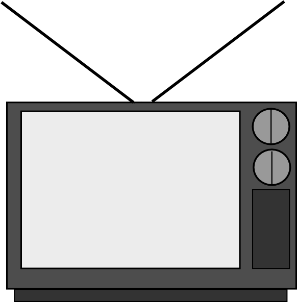 television clip art free vector 4vector rh 4vector com clipart télévision gratuit television clipart free