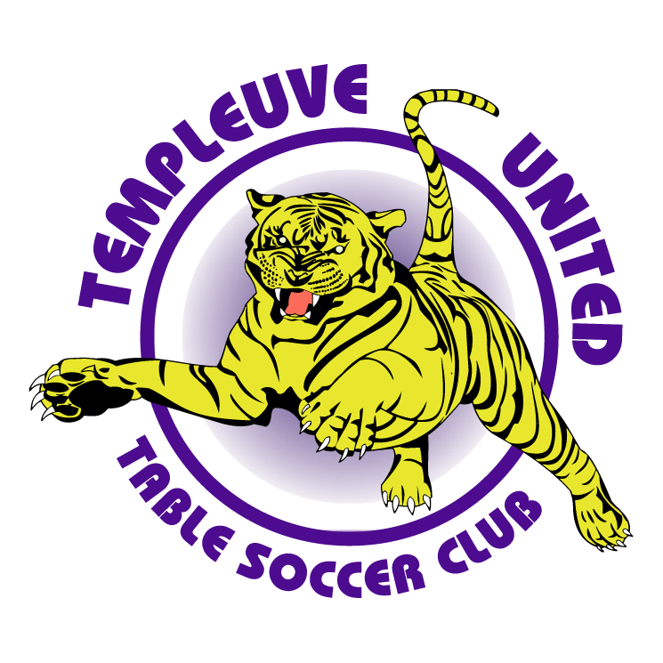 free vector Templeuve united table soccer club