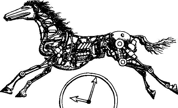 tempus fugit clip art free vector    4vector