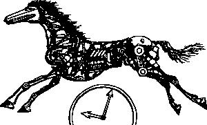 free vector Tempus Fugit clip art