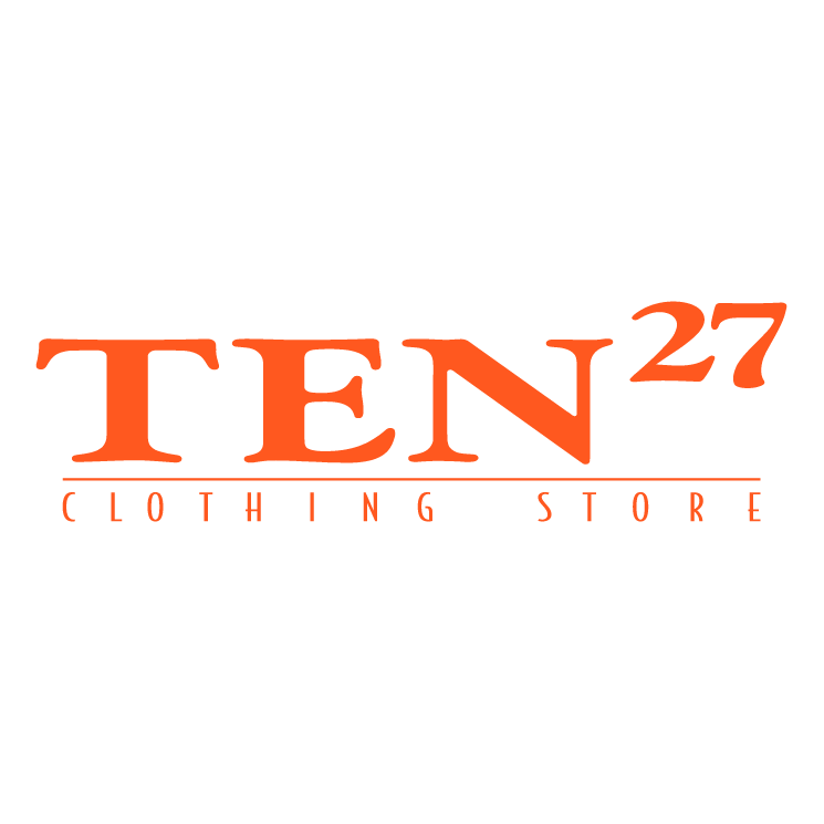 free vector Ten27 clothing stores