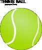 free vector Tennis Ball clip art
