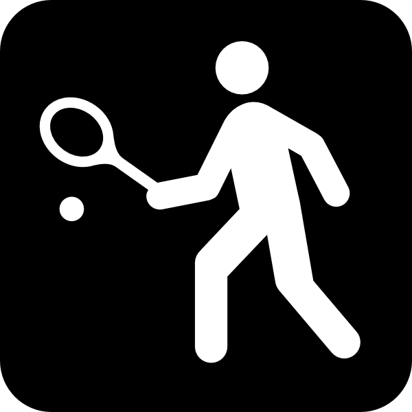 free vector Tennis Or Squah Courts clip art 111333