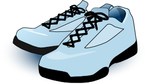free vector Tennis Shoes clip art