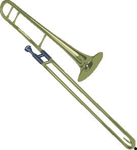 free vector Tenor Trombone clip art