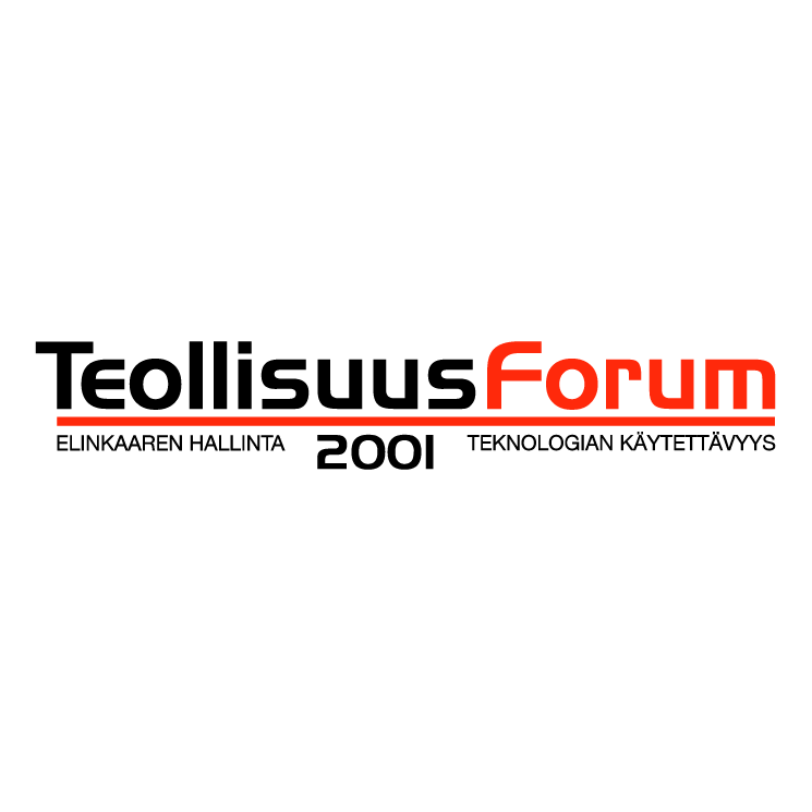 free vector Teollisuus forum