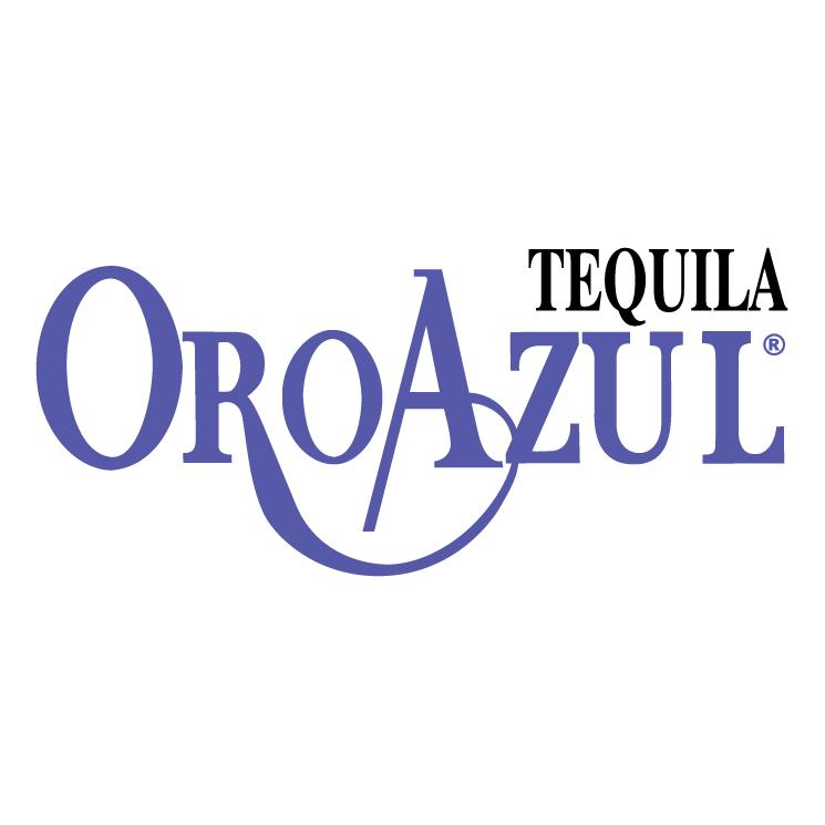 free vector Tequila oro azul