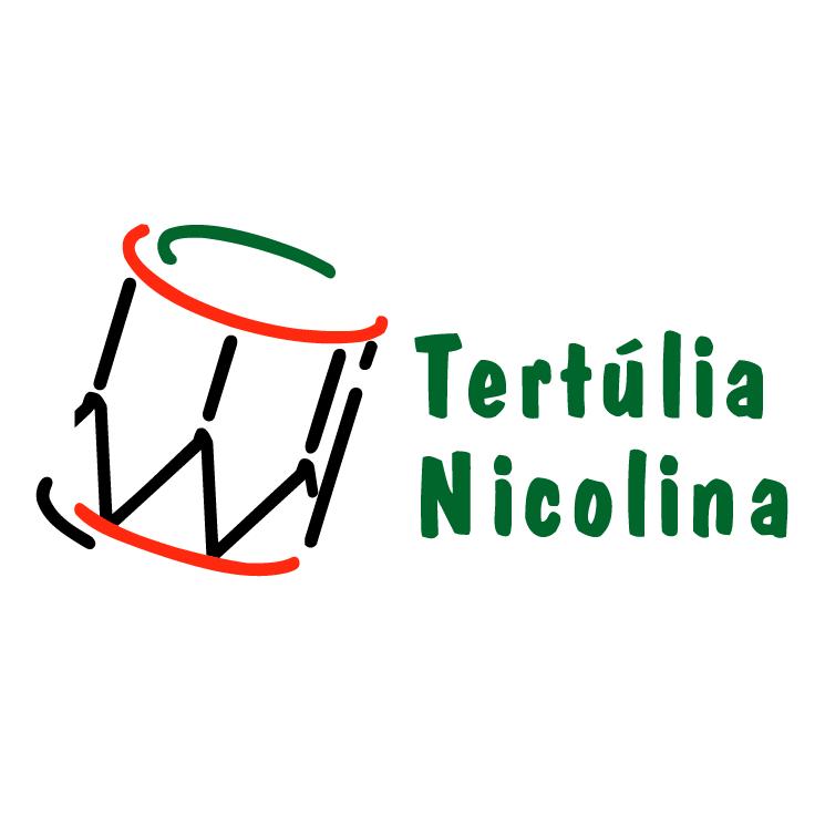 free vector Tertulia nicolina