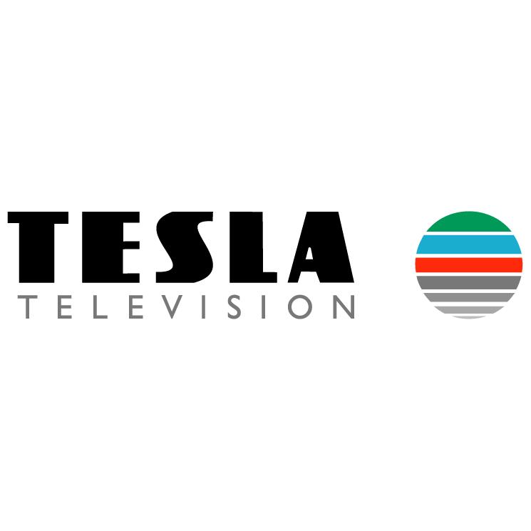 free vector Tesla television