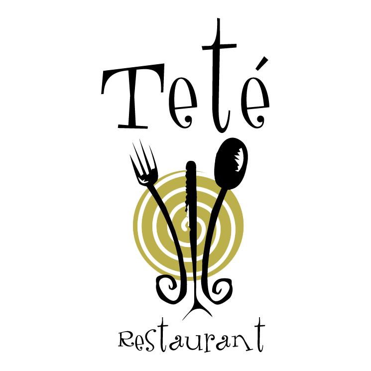 free vector Tete restaurant