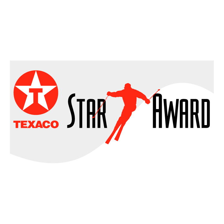 free vector Texaco star award