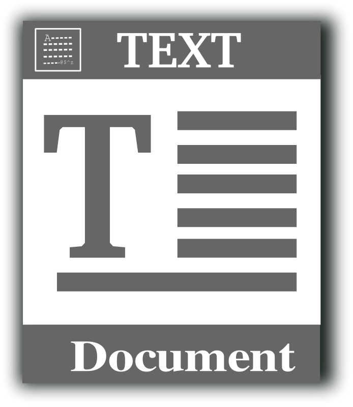 free text file