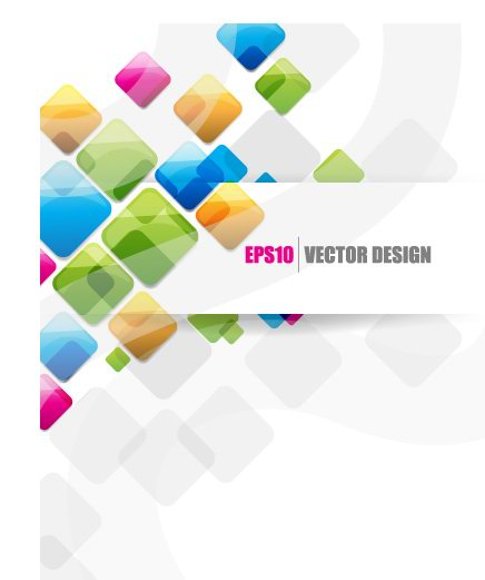 free vector Text of creative origami ribbon design background vector 3
