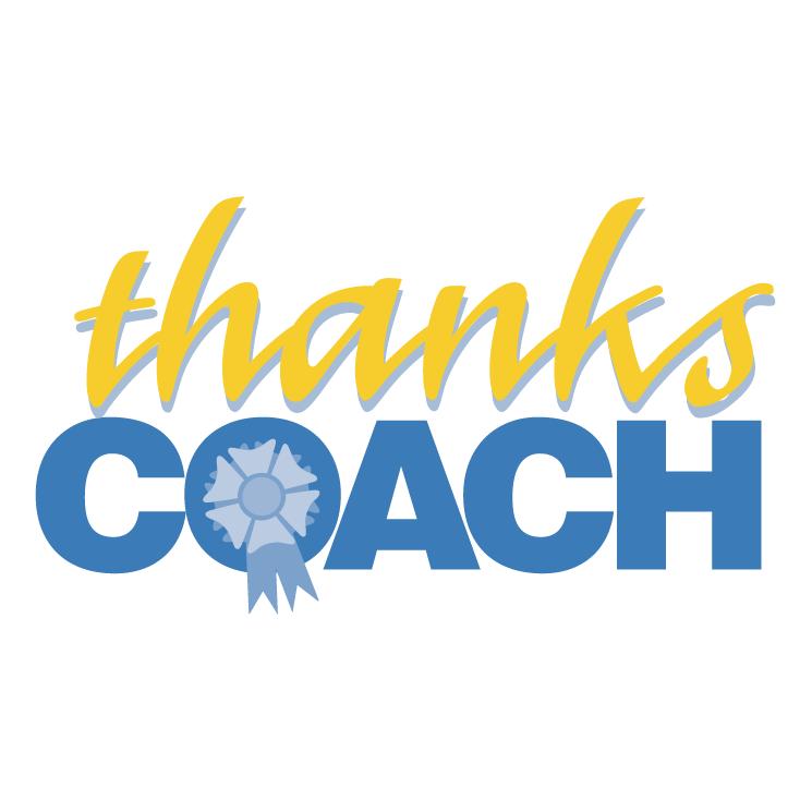 Thanks Coach Free Vector 4vector