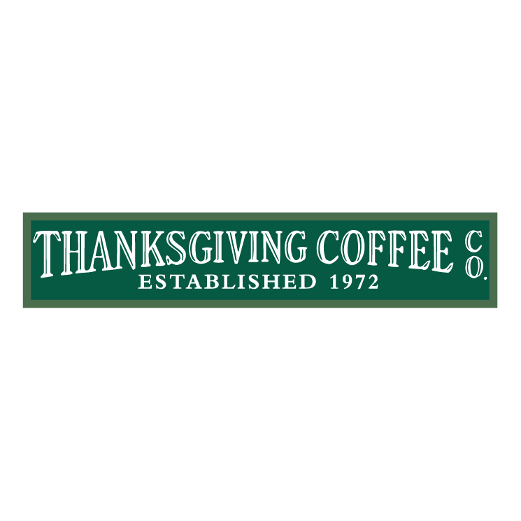 free vector Thanksgiving coffee