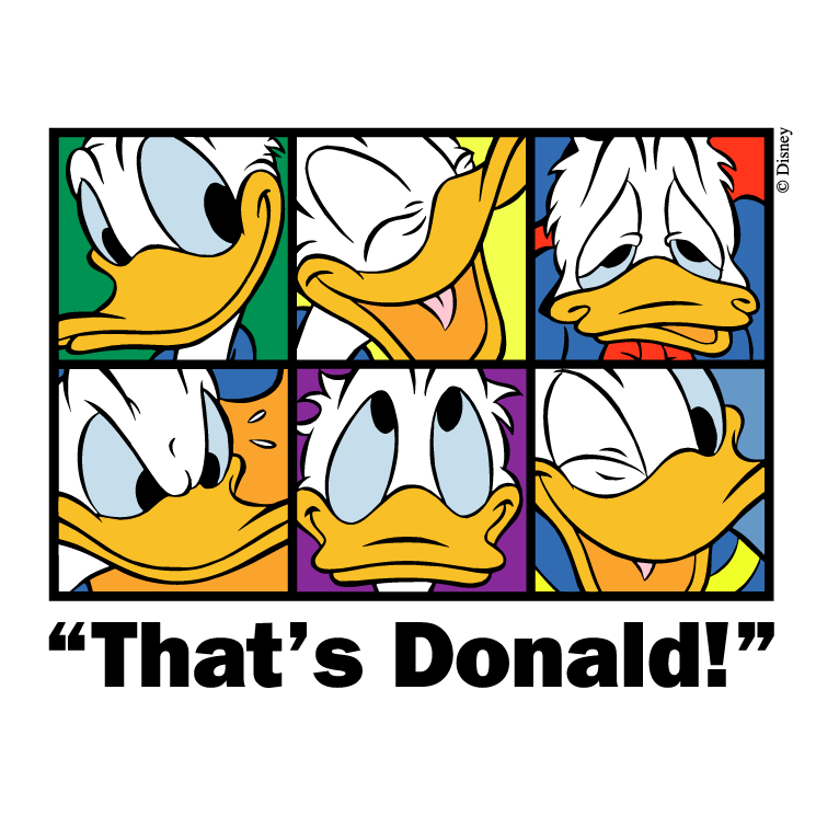 free vector Thats donald