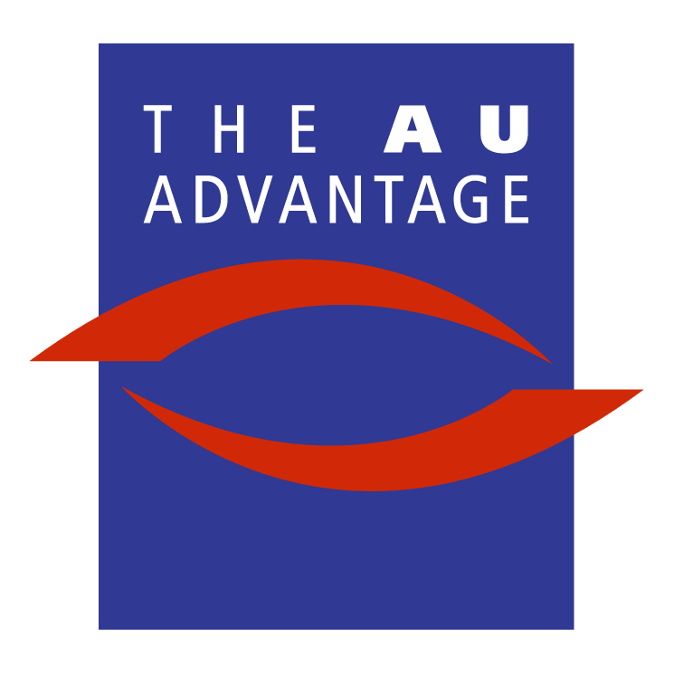 free vector The au advantage