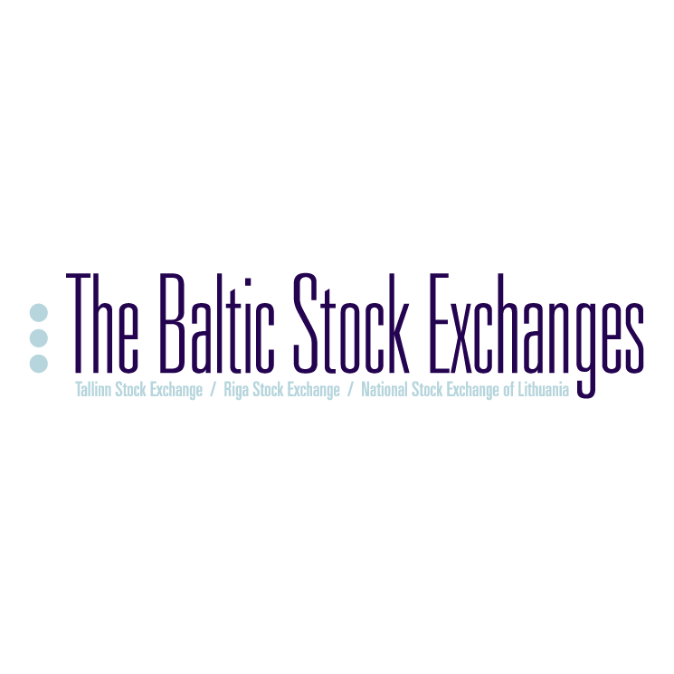 free vector The baltic stock exchanges