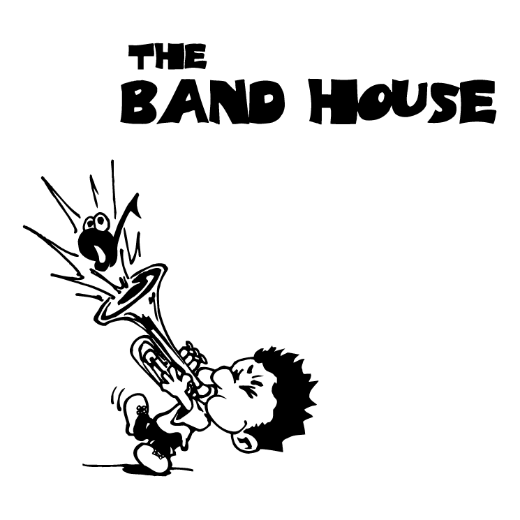 free vector The band house
