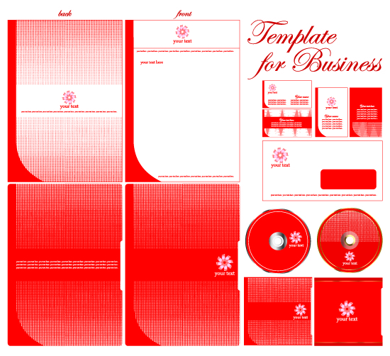 free vector The basic elements of vector enterprise vi
