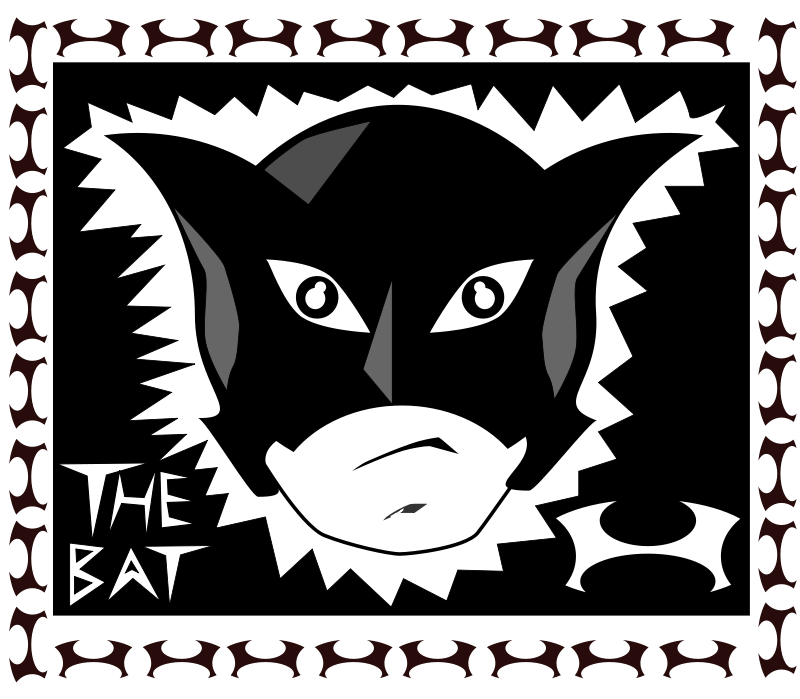 free vector The bat!