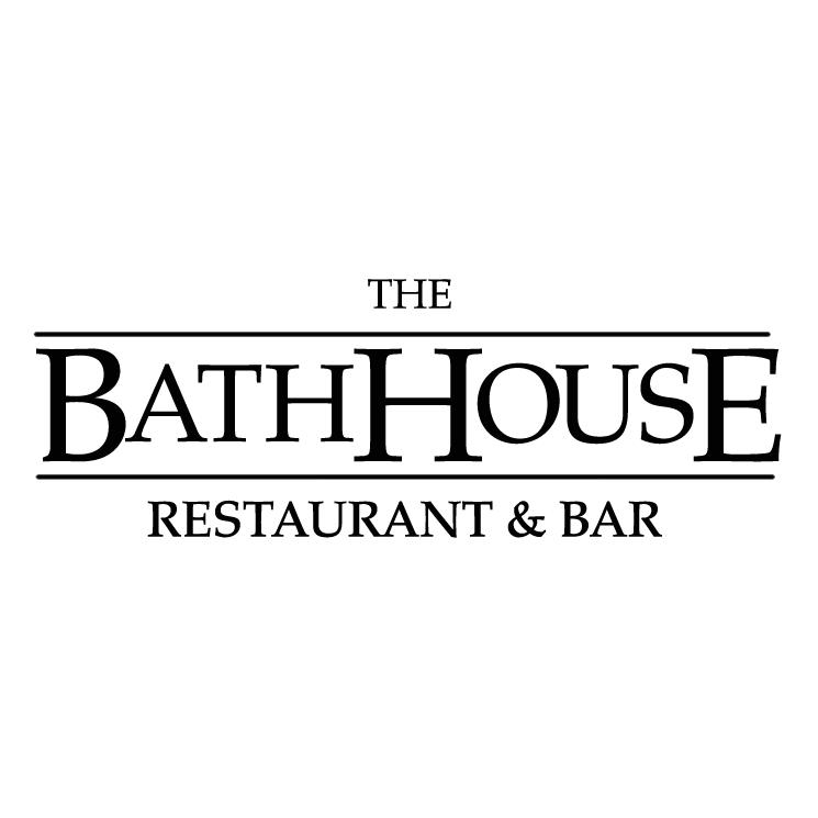 free vector The bathhouse