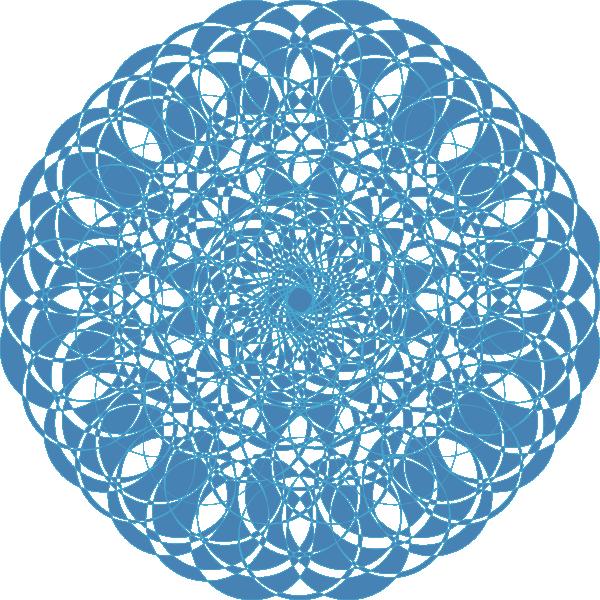free vector The Blue Ornament clip art
