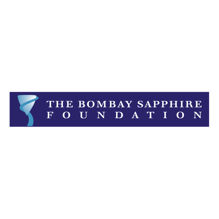 free vector The bombay sapphire foundation