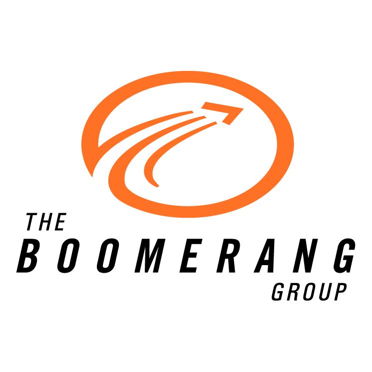 free vector The boomerang group