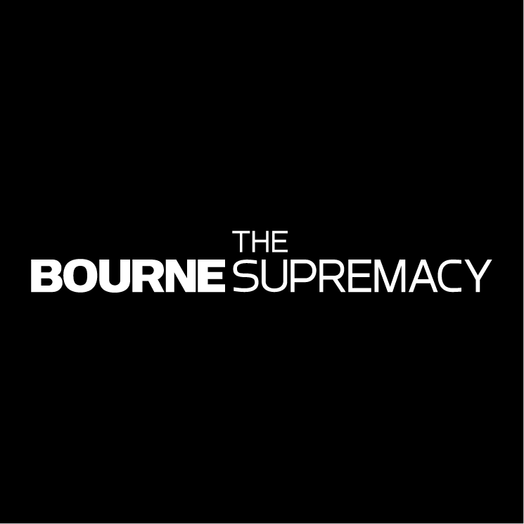 free vector The bourne supremacy