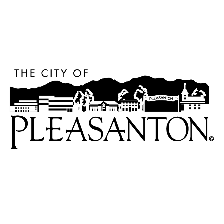 free vector The city of pleasanton
