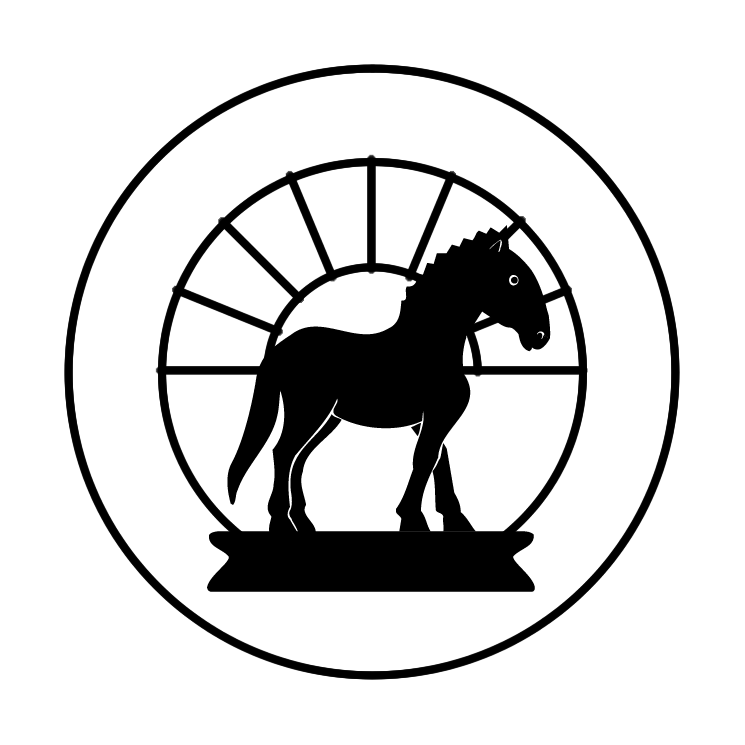 free vector The dawn horse press